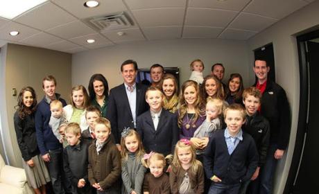 Rick Santorum, Duggars