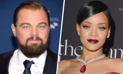 Leonardo DiCaprio and Rihanna: Actually Photographed Together!