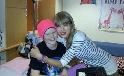 Taylor Swift Bonds with Cancer Patient in Nebraska