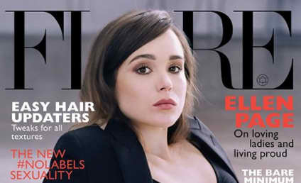 Ellen Page: Topless For Flare Magazine!