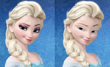 Disney Princesses With No Makeup