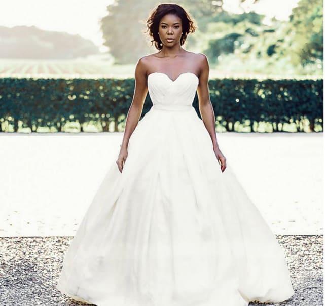 33 Celebrity Wedding Dresses We Wish We Wore