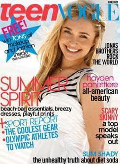 Hayden Panettiere: Teen Vogue