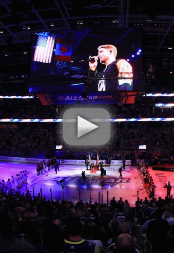Brett young destroys national anthem possibly career in general