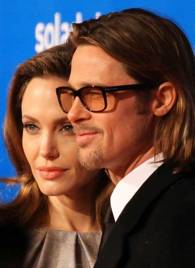 Pitt and Jolie Photo