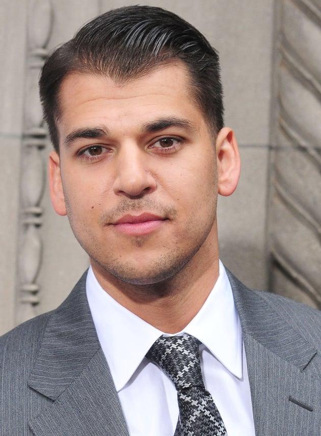 Rob Kardashian in a Suit