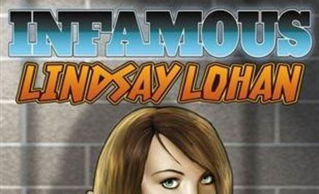 Lindsay Lohan Comic Book Cover