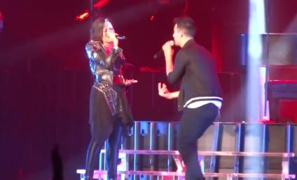 Demi Lovato Reunites with Joe Jonas on Stage: Watch the Performance!