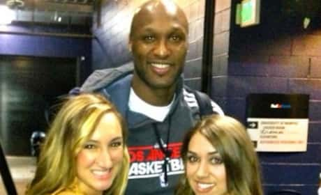 Lamar Odom and Fans