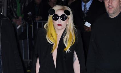 Lady Gaga: Crystal Catsuit Chic