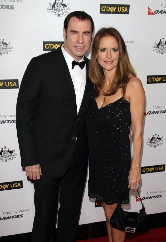 John Travolta and Kelly Preston Photo