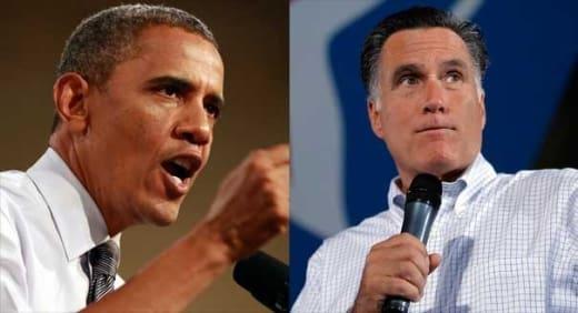 Obama vs. Romney Pic