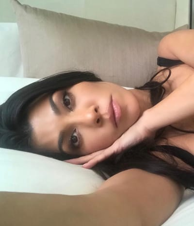 Kourtney Kardashian Says Sweet Dreams