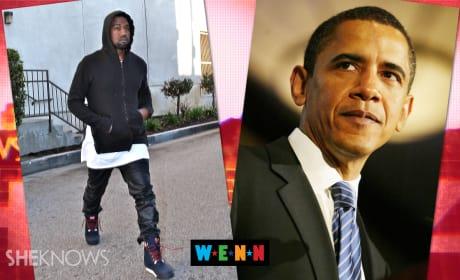 Kanye West to Obama: You Suck!
