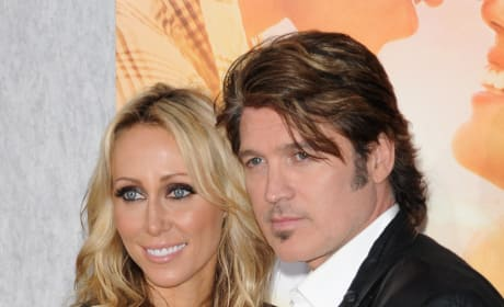Billy Ray Cyrus and Tish