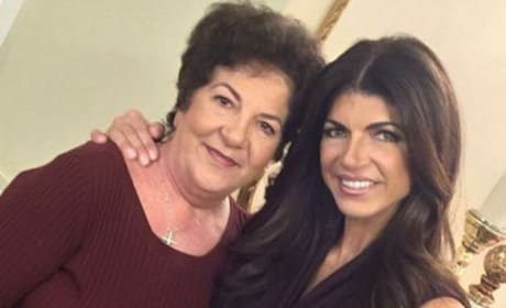 Teresa Giudice with Antonia Gorga