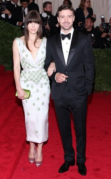 Jessica Biel and Justin Timberlake Photo