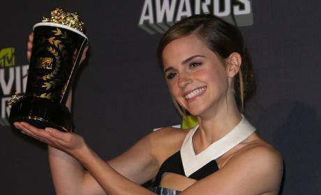 Emma Watson at 2013 MTV Movie Awards