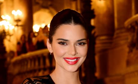 Kendall Jenner with a Smile