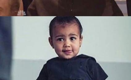 Kim Kardashian on Kanye and North West: Look at My Twins!!!