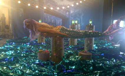 Katy Perry Goes Planking in Mermaid Costume; Lady Gaga Fans Not Pleased