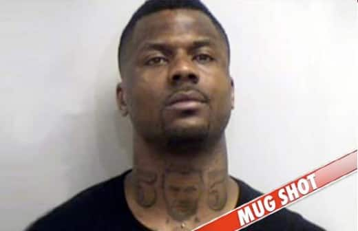 DeShawn Stevenson Mug Shot