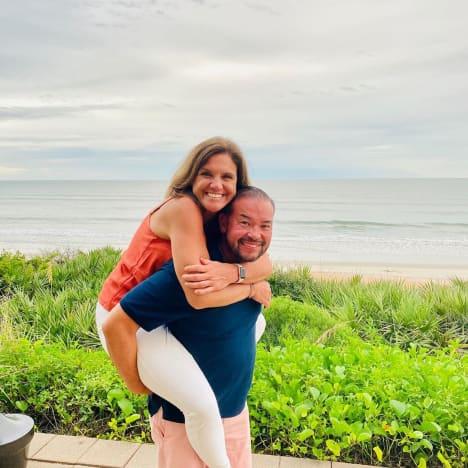 Jon Gosselin and Colleen Conrad, Playful in Florida