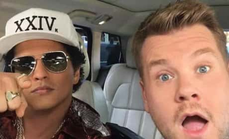 Bruno Mars on Carpool Karaoke