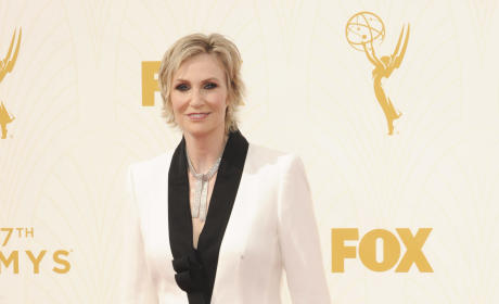 Jane Lynch at the Emmys