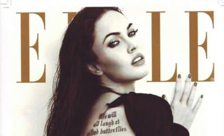 Megan Fox Elle Cover