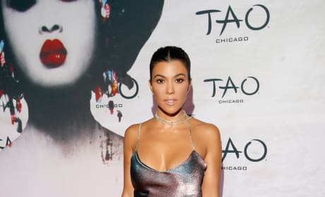 Kourtney Kardashian in Chicago