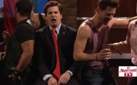 Andy Samberg as Rick Santorum