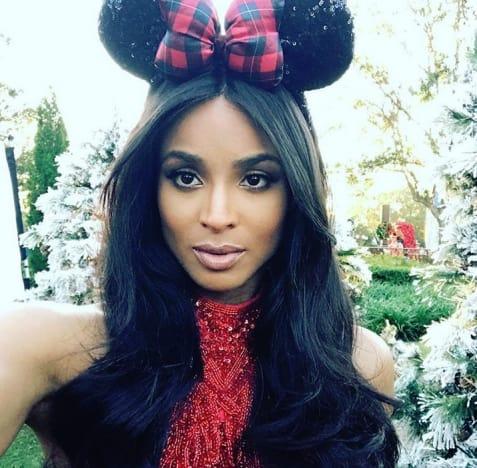 Ciara at Disney World