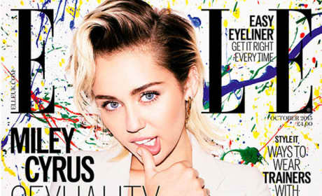 Miley Cyrus Elle Cover Pic