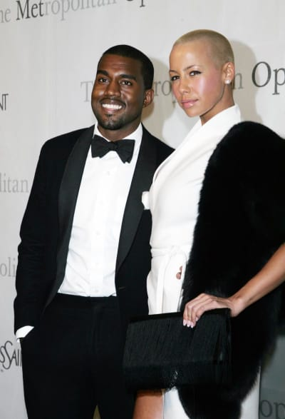 Amber Rose, Kanye West Pic
