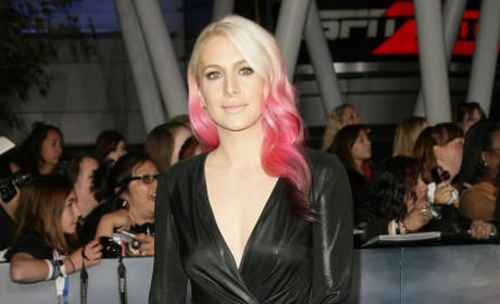 Casey LaBow with Pink Hair