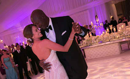 Michael Jordan-Yvette Prieto Wedding Photo: First Look!