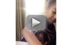 North West Sings to Kim Kardashian: Watch!