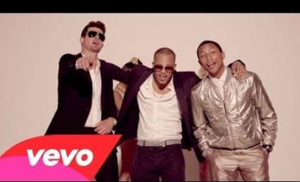 "Robin Thicke ""Blurred Lines"" Video: Banned By YouTube!"