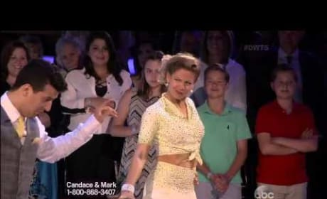Candace Cameron Bure & Mark Ballas - Foxtrot