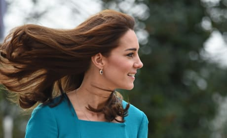 Kate Middleton's Windswept Hair