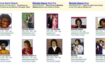Offensive Image on Search For Michelle Obama Pictures Prompts Explanation From Google