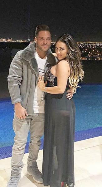 Ronnie Ortiz-Magro, Girlfriend