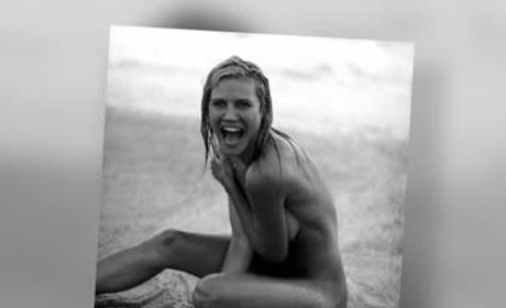 Heidi Klum Nude Photo Throwback
