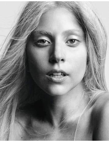 Lady Gaga Makeup Free