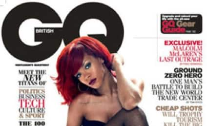 Rihanna Covers UK GQ; Fishnets in Effect