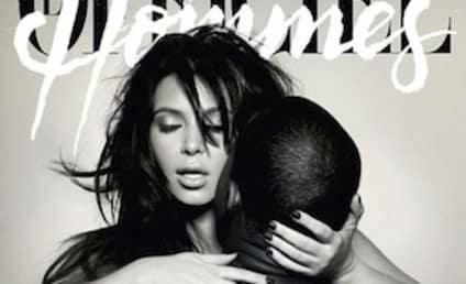 Kim Kardashian and Kanye West Simulate Sex on Magazine Cover