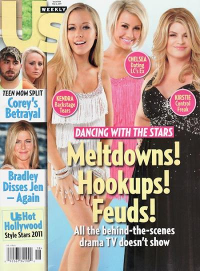 Dancing With the Stars Us Weekly Cover