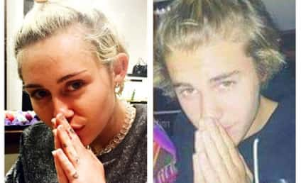 Miley Cyrus Makes Like Justin Bieber on Instagram