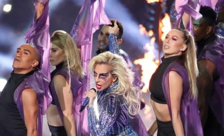 Lady Gaga Super Bowl Photo
